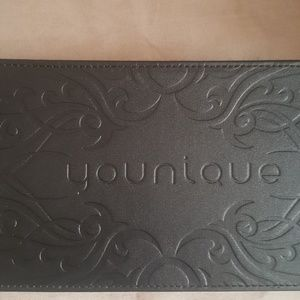 Retired Younique makeup case leather